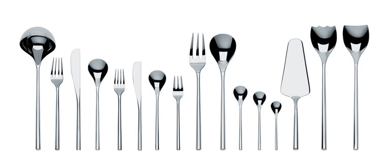 Modern tableware by Toyo Ito.