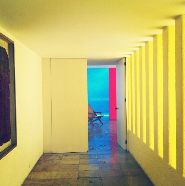 Casa Gilardi yellow walls