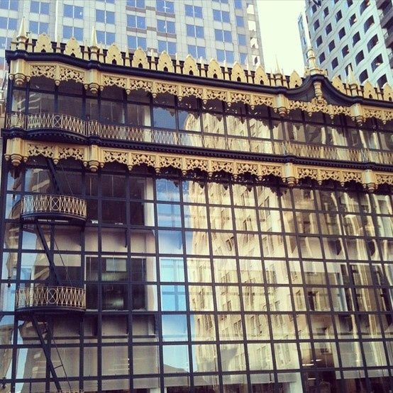 The Hallidie Building in San Francisc