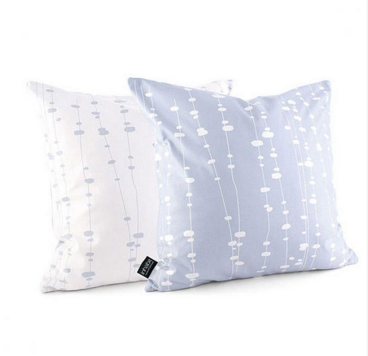 Inhabit Pussy Willow pillows