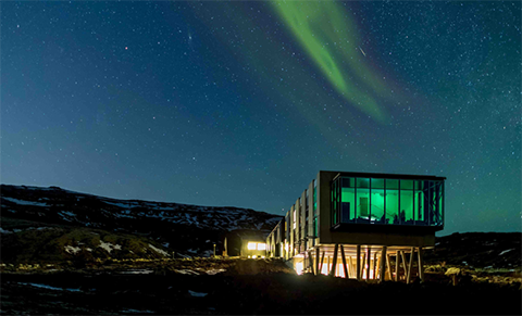 Northern Lights Bar in Iceland