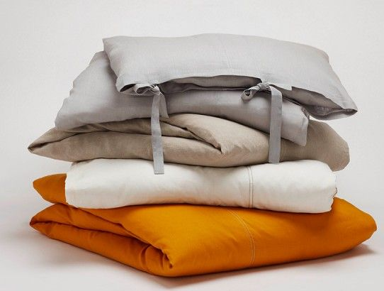 Linen bedding from Coyuchi