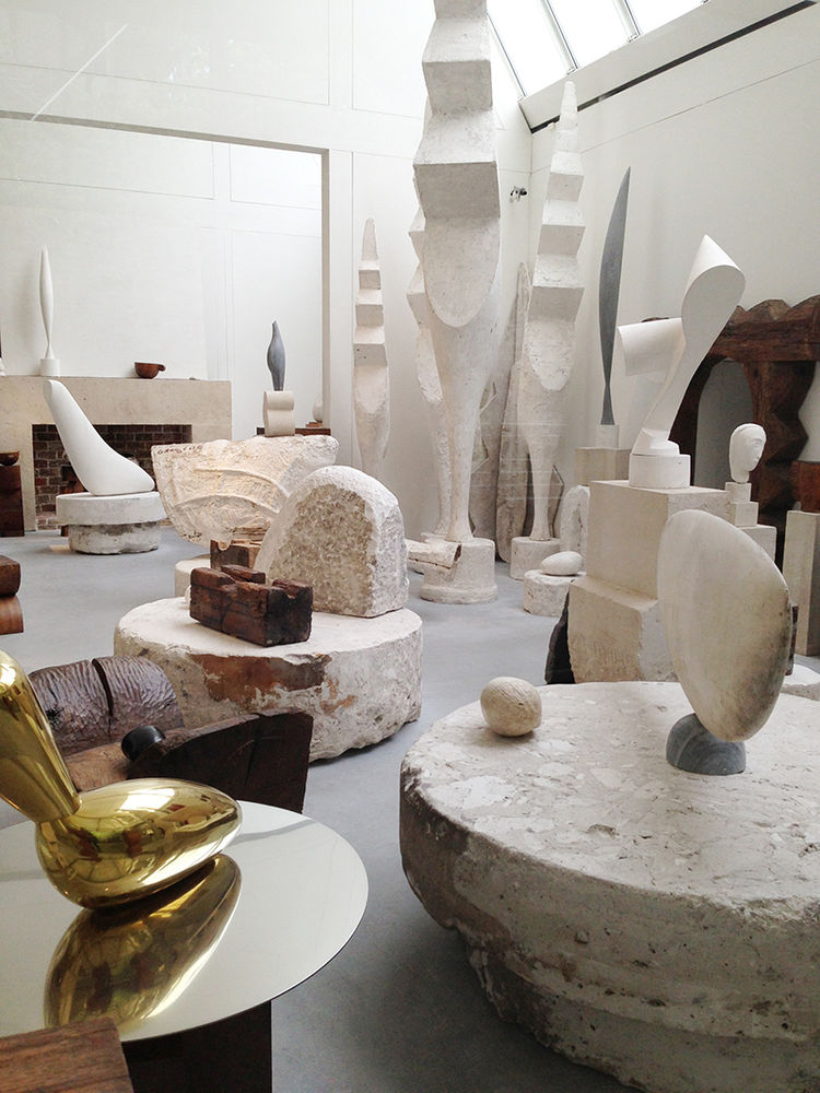 Atelier Brancusi at Centre Georges Pompidou