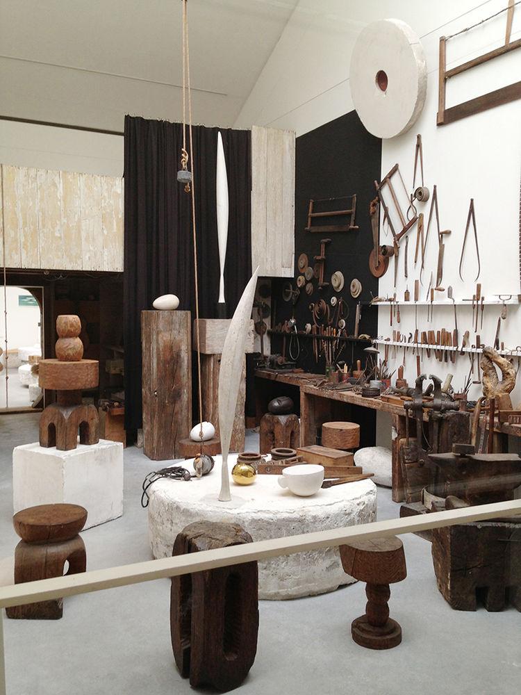 Atelier Brancusi at Centres Georges Pompidou