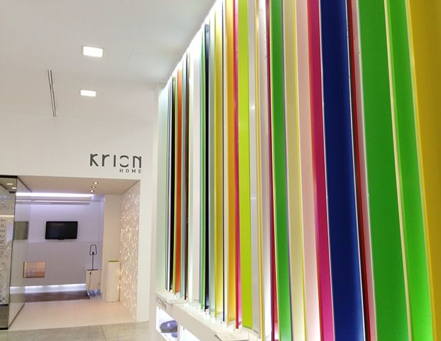 kiron solid surfaces by systempool and porcelanosa