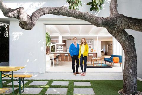 Glee Star Jayma Mays Los Angeles home renovation