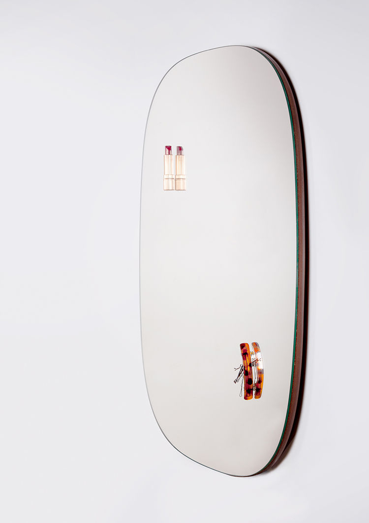 Attractive magnetized mirror by Umut Demirel