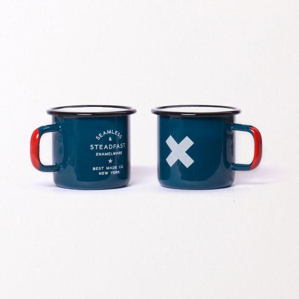 enamelware cups