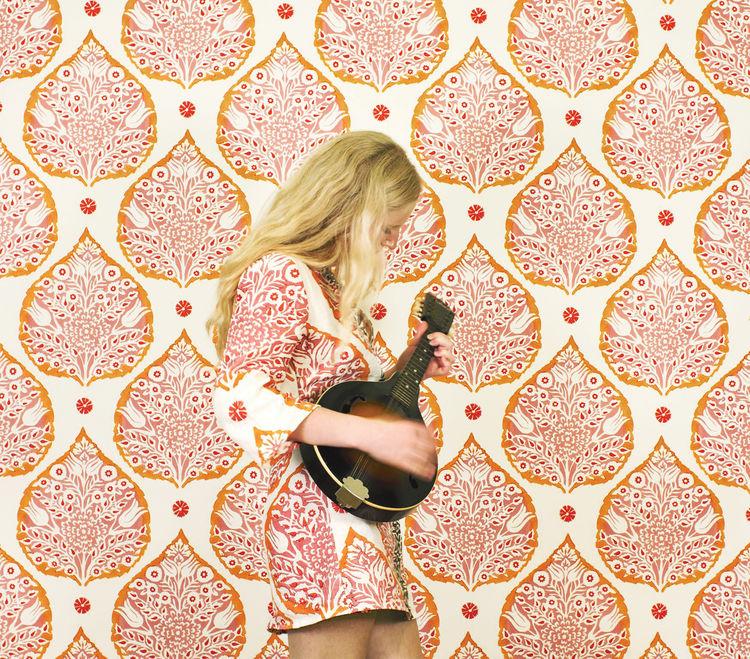Lotus wallpaper by Galbraith & Paul
