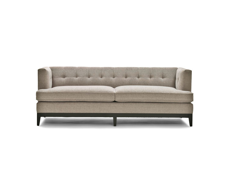 Carey's Office Sofa from the Good Wife Collection by Mitchell Gold + Bob Williams