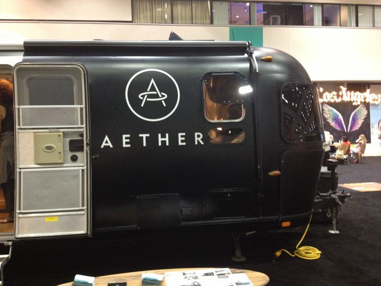 Aether Airstream Trailer at Dwell on Design 2013