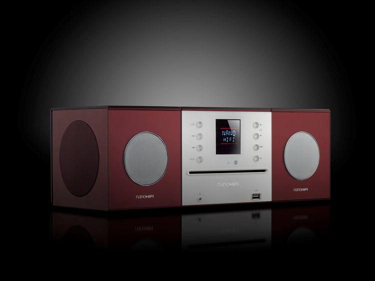 Sleek speakers by Nanohifi