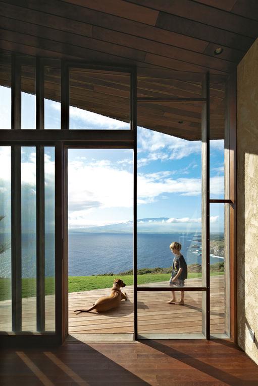 Hawaiian home view
