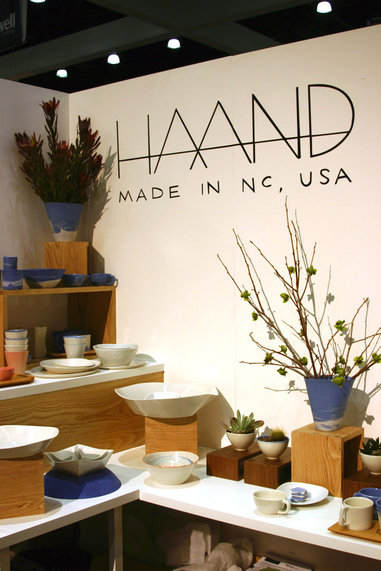 Haand ceramics from North Carolina at Dwell on Design