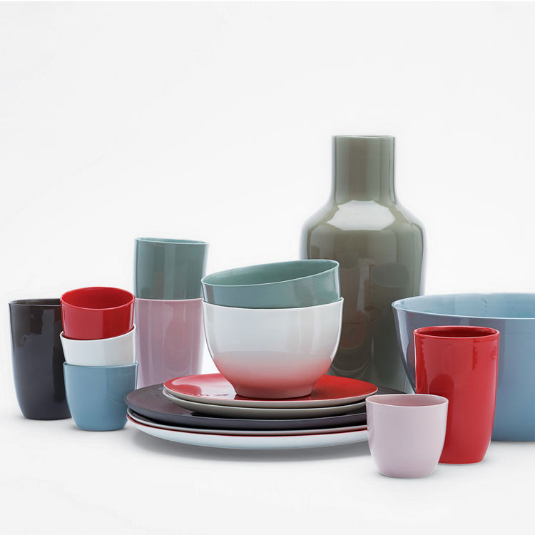 Dishes by Hella Jongerius for Royal Tichelaar