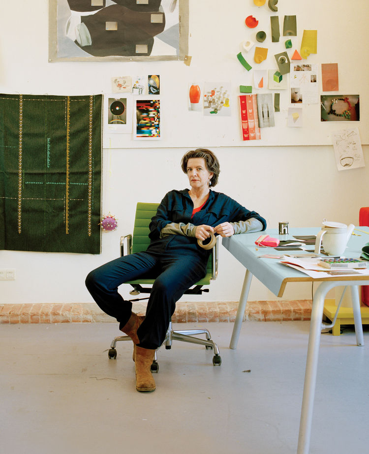 Hella Jongerius designer in her studio