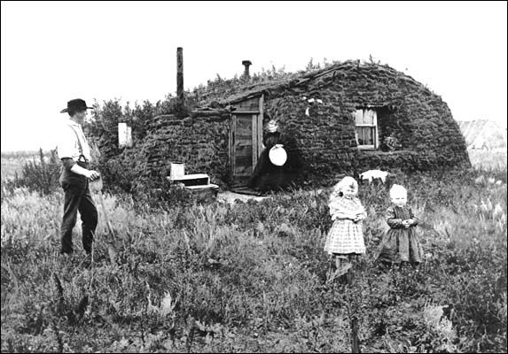 traditional sod house