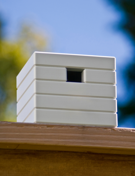 Cube birdhouse by Loll Design