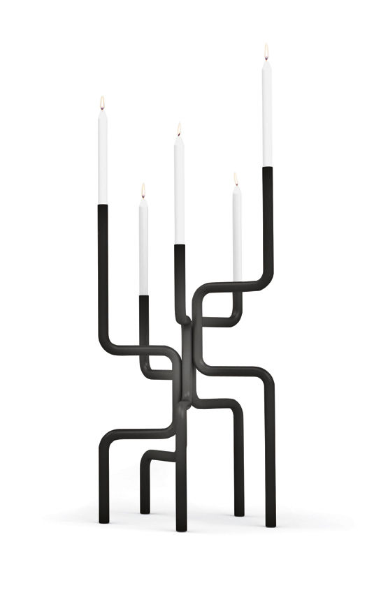 Walk of Flames candelabra by Frederik Roijé