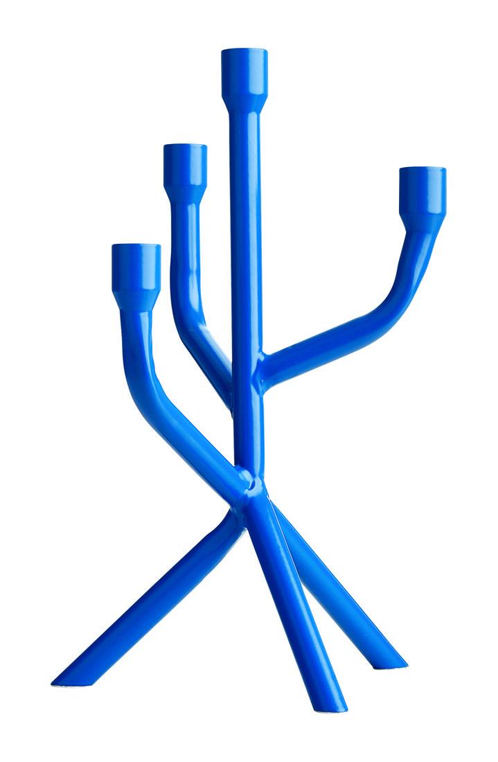 BoConcept blue candelabra
