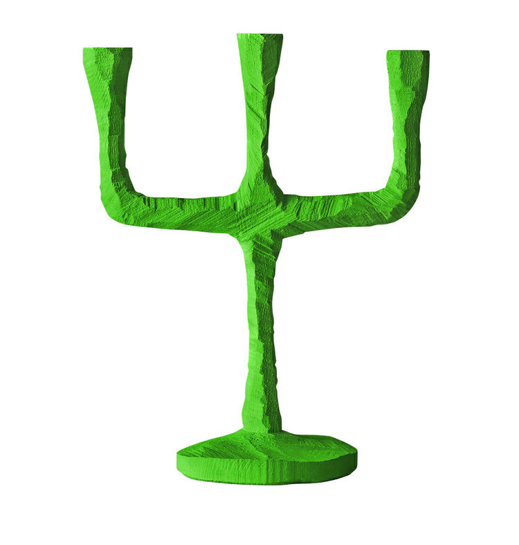Green Raw candelabra by Jens Fager for Muuto at A+R store in the United States