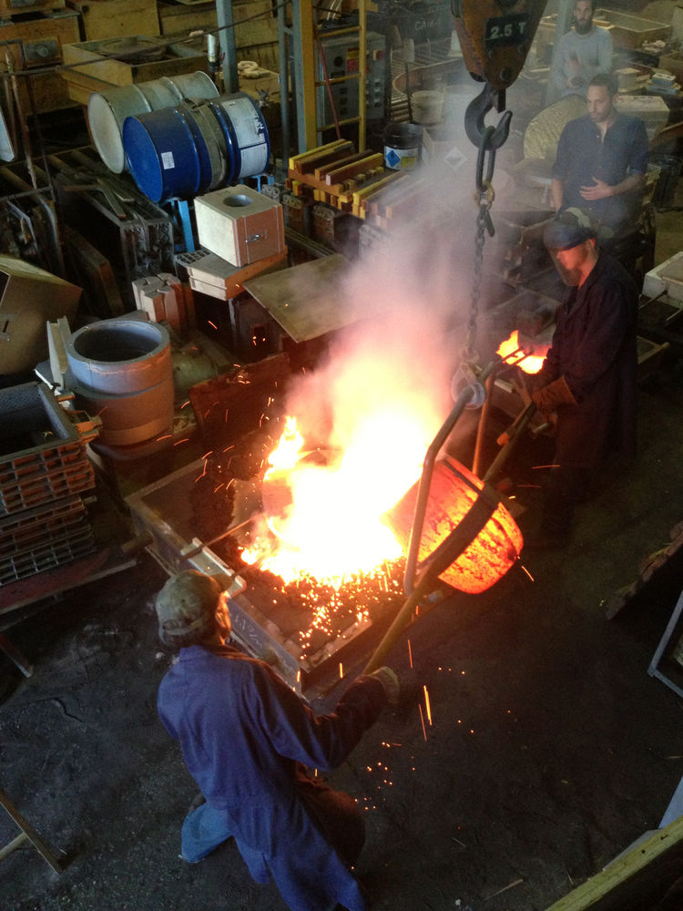 factory behind-the-scenes bocci metal