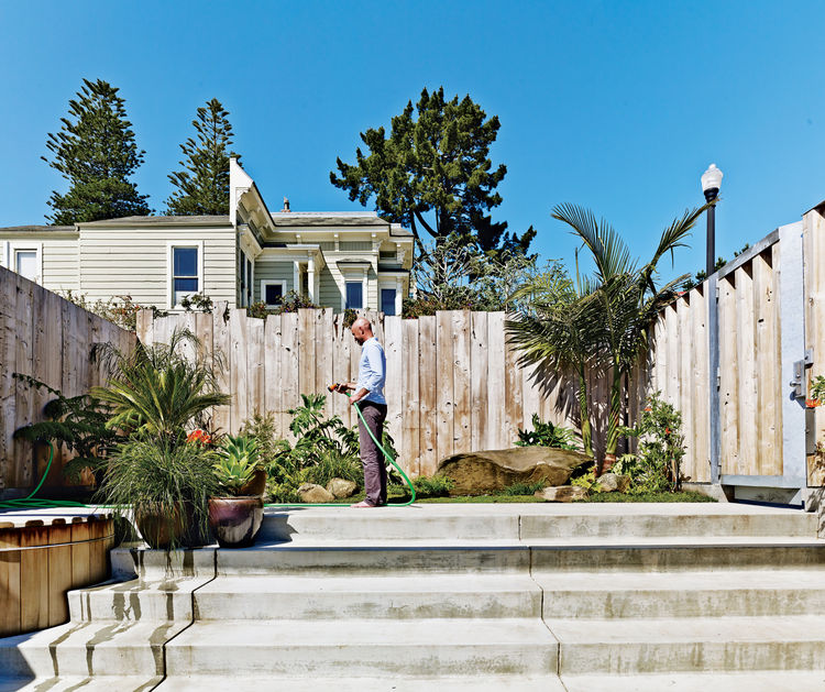Outdoor garden in San Francisco