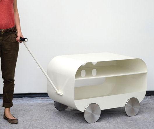Brum Brum table cart by Atelier Areti