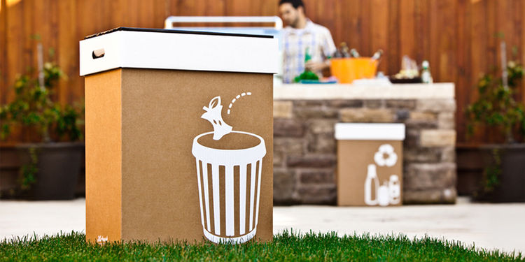 Pop-up Party Bins by Hobnob USA