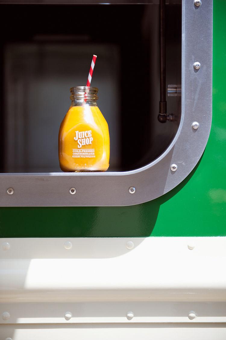 Juice Shop mobile truck