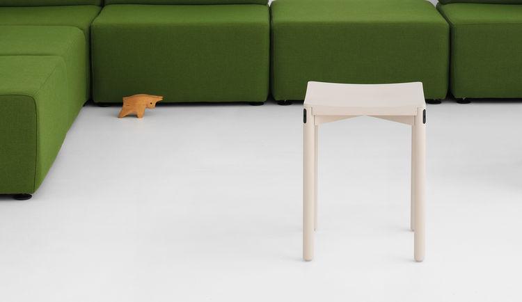 blonde wood table