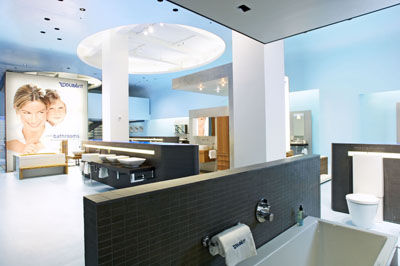 Duravit mirrorwall bathroom vanity
