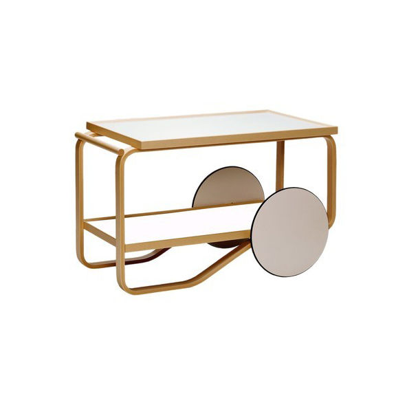 tea trolley by alvar aalto for artek