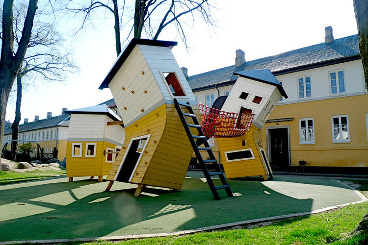 Playground designed by Monstrum