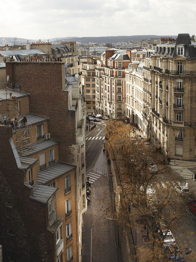 rue Raynouard in Paris, France