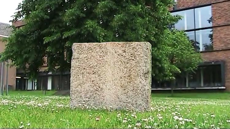 Reinforced Wood Wool Cement Board by Dutch Design Initiative