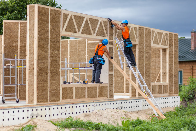 Straw Panels by Ecococon