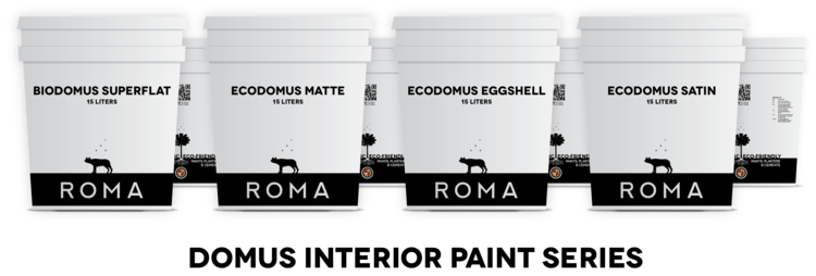 Domus Mineral Paints by ROMA