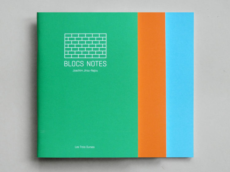 Notebook with brick patterns at Present & Correct back to school office desktop shopping