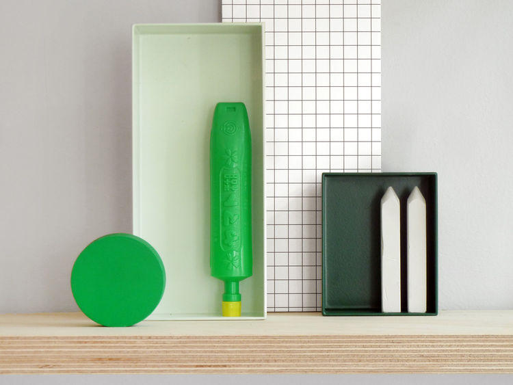 Desktop organization metal boxes Present & Correct shopping