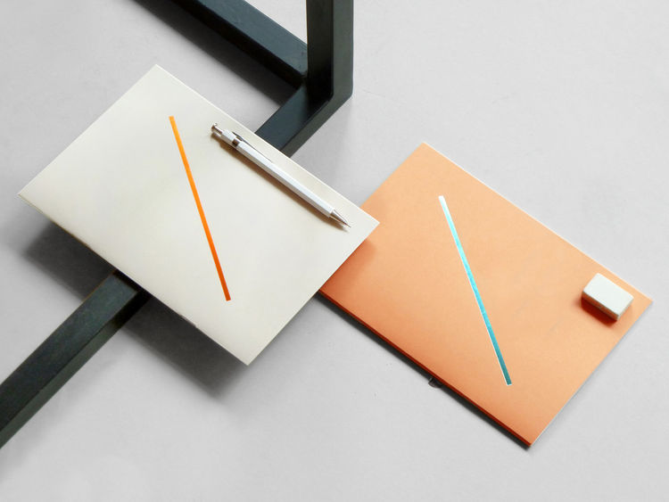 Paper notebooks from Present & Correct back to school office desktop shopping