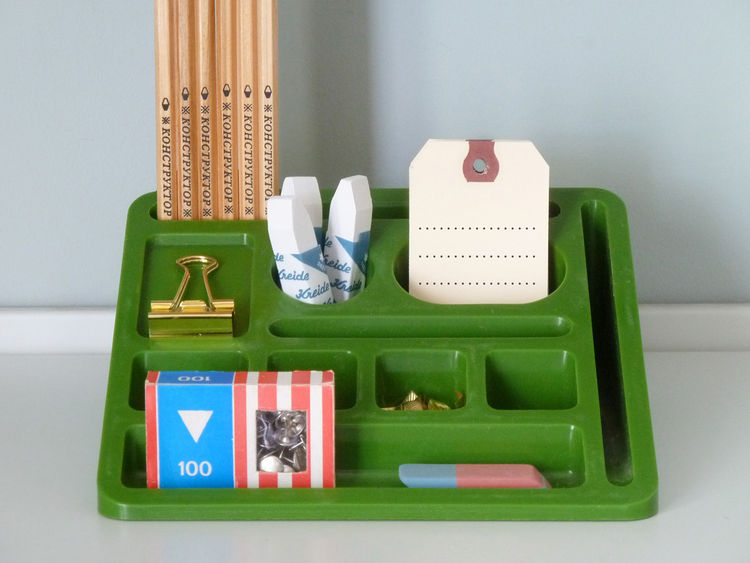 Plastic wedge desktop organizer back to school shopping Present & Correct