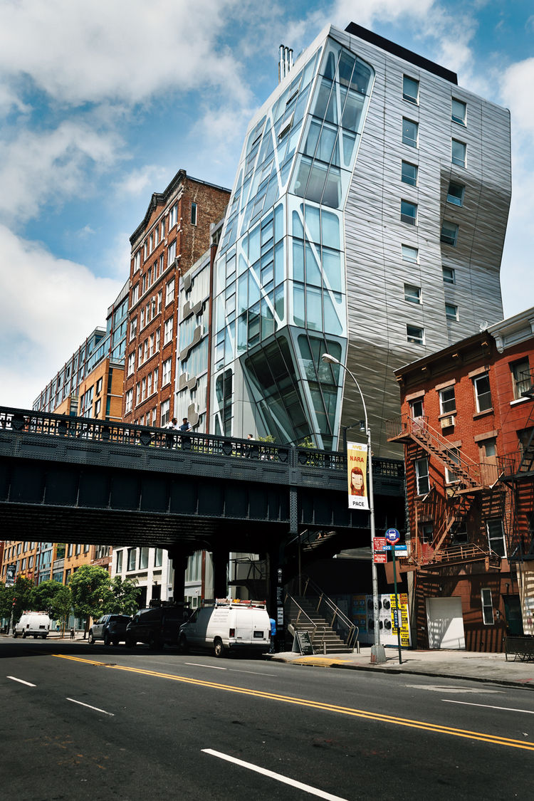 high line, new york, apartment building, Neil Denari