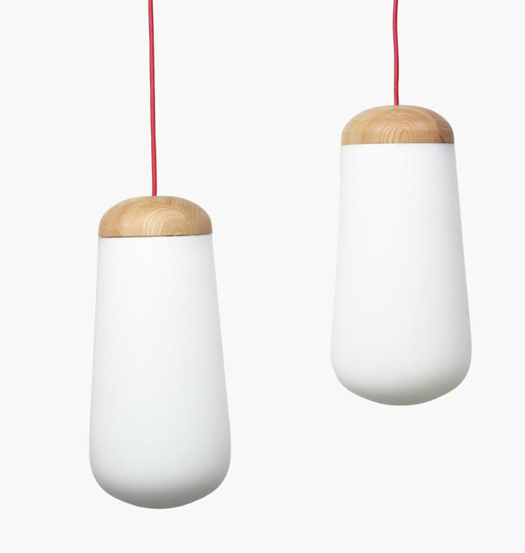 LED-illuminated Miina lamp by Matti Syrjälä