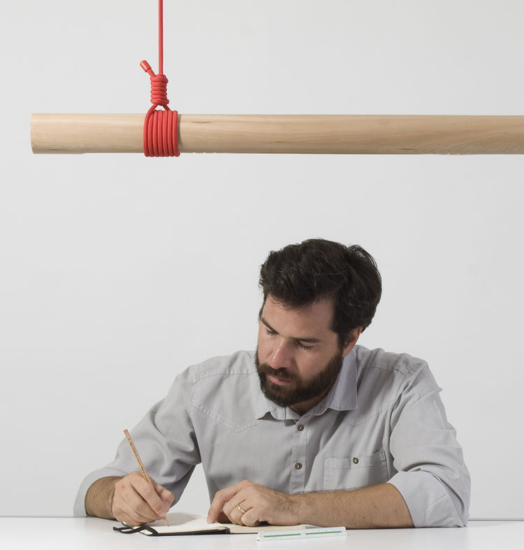 Stick Lamp L120 by Matias Ruiz Malbran