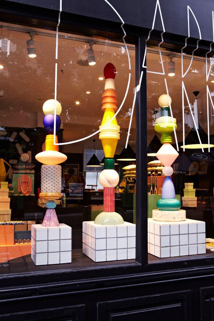 london design festival shop exterior