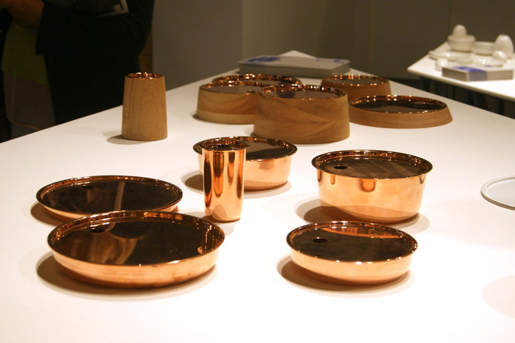 Rodrigo Bravo copper vessels London Design Festival 2013 trend