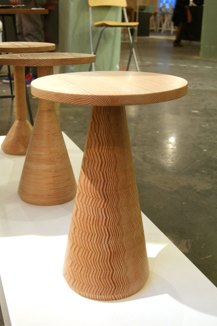 Gavin Coyle wooden Jac table London Design Festival 2013 trends