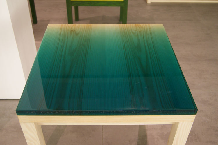 JO Nagasaka wood resin table Established & Sons London Design Festival 2013 trends