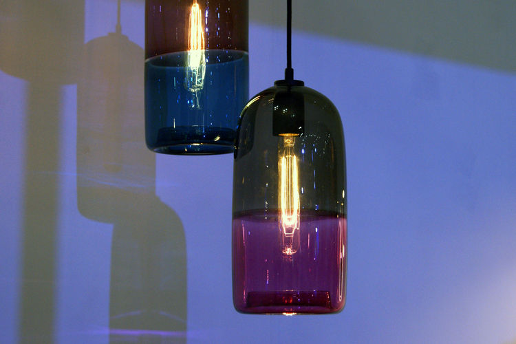 Mark Douglas Melbourne glass pendant lamps London Design Festival 2013 trends